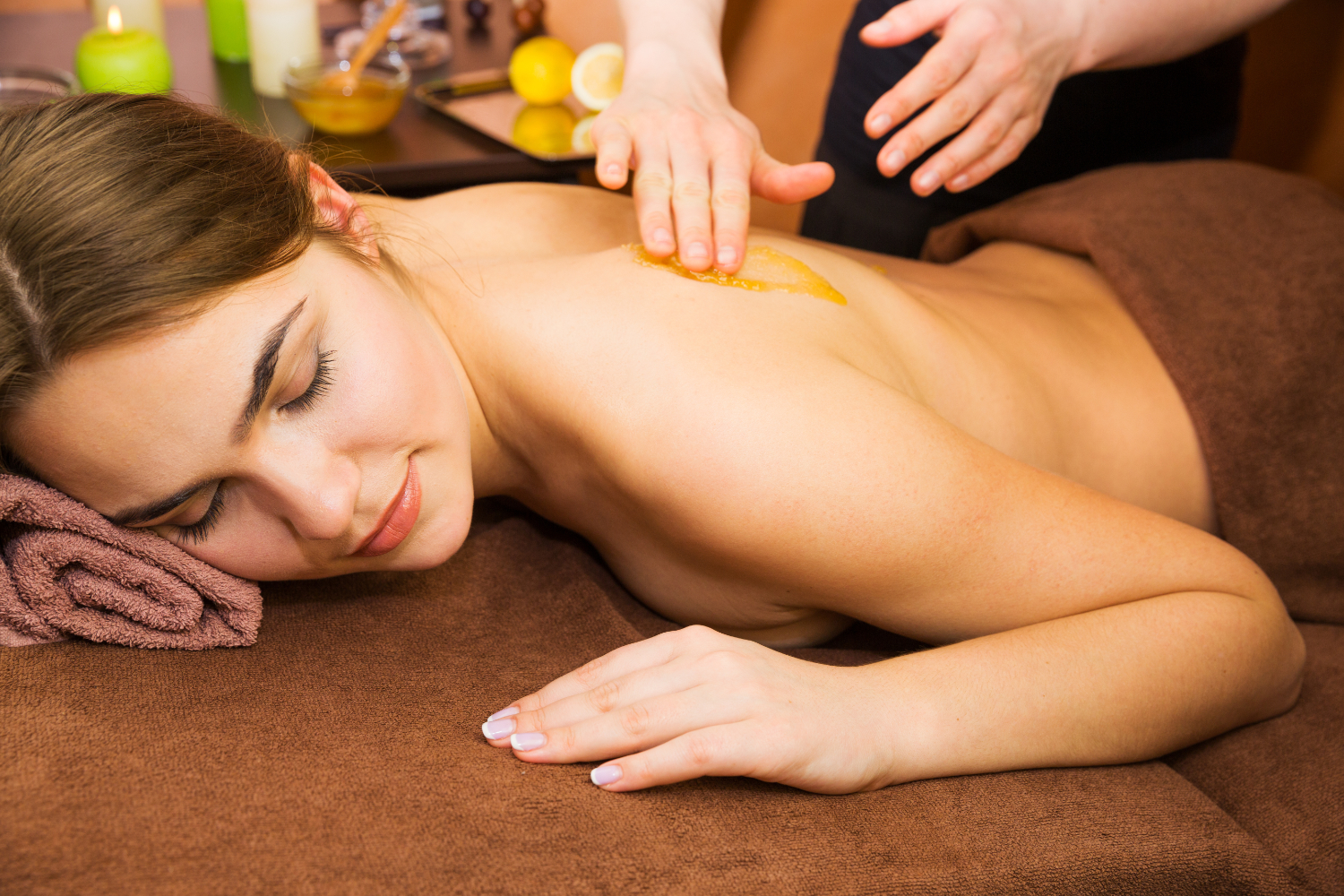 Massage relaxant - Aux Mains Sages